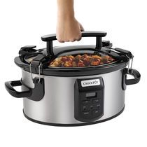 Shop for The Crock-Pot® Single Hand Cook & Carry® 6-Quart Oval Slow Cooker at Crock-Pot.com - If It Doesn't Say Crock-Pot®, It's Not The…