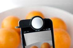 Fancy - Luxi iPhone Light Meter #patternpod #technology