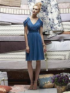 Lela Rose Bridesmaids Style LR161 in Ocean Blue #PatsysBridal #bridesmaid #wedding www.patsysbridal.com