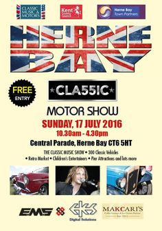 Herne Bay Classic Motor Show | Sunday 17th July 2016 http://ift.tt/29aTOSI