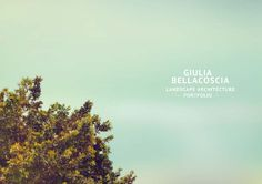 Giulia Bellacoscia _PORTFOLIO  Hello, I'm Giulia Bellacoscia and I am 28 years old. I have a Bachelor's degree in Urban Planning and Geographic Information Systems, and I have a Master's Degree in Landscape Architecture. I am looking for work in Urban Planning and design, to be able to test myself, to enhance my skills and be independent.