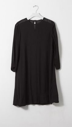 Raquel Allegra Flare Dress in Black  | The Dreslyn