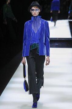 Giorgio Armani  #VogueRussia #readytowear #rtw #fallwinter2017 #GiorgioArmani #VogueCollections