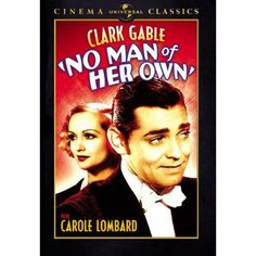 No Man of Her Own 2007 Universal Cinema Classics Clark Gable Carole Lombard 025192579028 | eBay