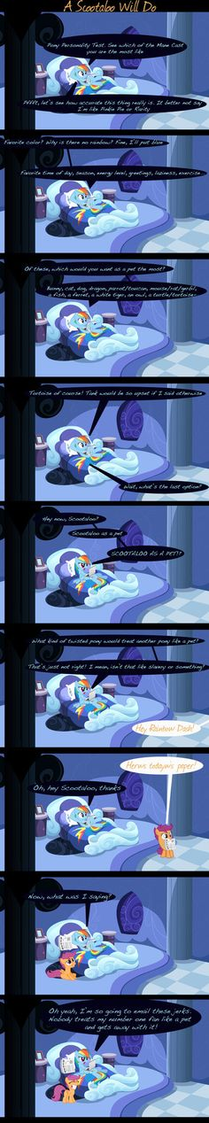 """Inspired by the fan fic """"My Little Dashie"""", and made using nothing but MS Paint."""
