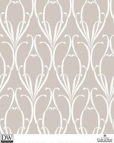 PARIS PEWTER  [Cole-80-12060] Cole and Son Since 1875 | DesignerWallcoverings.com | Luxury Wallpaper | @DW_LosAngeles | #Custom #Wallpaper #Wallcovering #Interiors