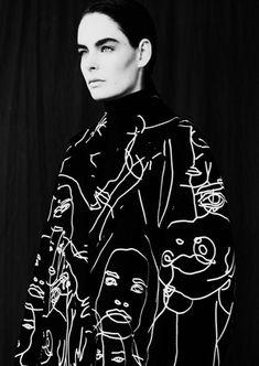 Tamara @ Plutino for Creem Magazine Fashion Prints, Fashion Art, High Fashion, Womens Fashion, Fashion Design, Textiles Y Moda, Do It Yourself Fashion, Grace Kelly, Mode Inspiration