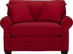 Cindy Crawford Home Bellingham Cardinal Chair . $499.99. 55.5W x 38D x 37H. Find affordable Chairs for your home that will complement the rest of your furniture.