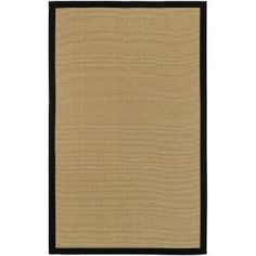 Artistic Weavers, Border Town Black 6 ft. x 9 ft. Area Rug, BTW3203-69 at The Home Depot - Mobile