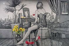 Il mondo di Mary Antony: I dipinti a grafite di Kay Ruane
