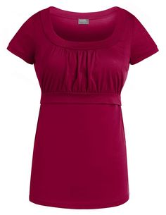 sofsy Soft-Touch Rayon Blend Tie Front Nursing Top or Maternity Dress Fashion Top and Dress Sold Separately