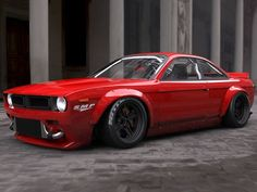 Nissan with Retro Muscle Car (Plymouth Barracuda) bodykit Nissan 240sx, S14 Rocket Bunny, Supercars, Touring, Plymouth Barracuda, Nissan Silvia, Drifting Cars, Japan Cars, Modified Cars