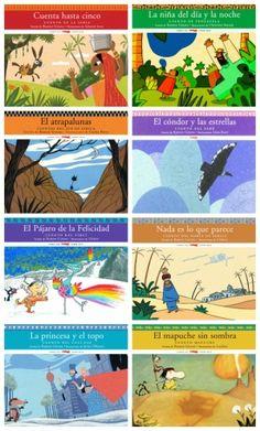 Colección «Cuentos del Mundo» de la editorial Libros del Zorro Rojo. Cuentos del Caúcaso, del Norte y del Sur de África, del Tíbet, de la India, de Venezuela, de la Patagonia, de Perú...
