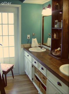This site has a lot of Before and After ideas for all rooms of the house and gives them a $$$ rating so you have an idea of what it will cost before you try to start the project