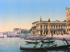 Venezia - Gondolas and the Piazzetta di San Marco