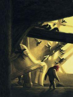 Benjamin Lacombe, el famoso ilustrador francés, ilustra este clásico de Víctor Hugo. Edelvives presenta esta obra maestra como novedad de otoño y Navidad 2013.