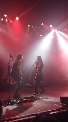 Tarja Turunen and Alex Scholpp live at Le Transbordeur, Lyon, France. The Shadow Shows, 08/11/2016 #tarja #tarjaturunen #theshadowshows #tarjalive PH: Audrey Moi https://www.facebook.com/audreymoi74