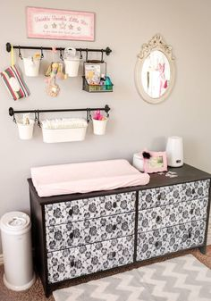DIY Baby Changing Station