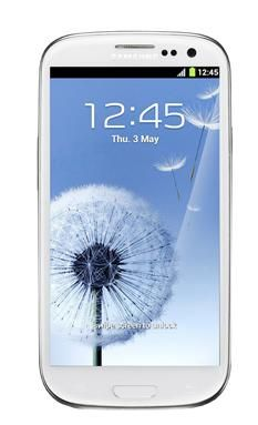 Smartphone Desbloqueado 3G Galaxy SIII Branco GT-I9300 SAMSUNG, por apenas R$1798