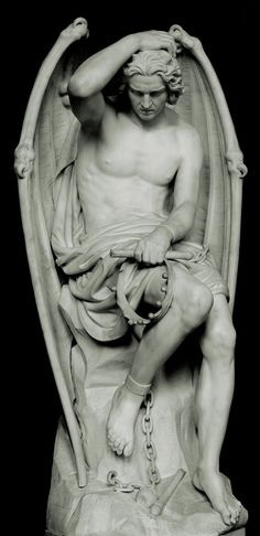 lucifer statue - what an amazing work of art. It's all in the details - you…