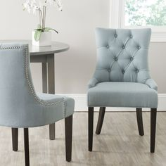 Reynolds Tufted Side Chair