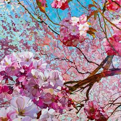 Spring, Still Life, Marie, Abstract, Fine Art, Landscape, Artwork, Gallery, Painting