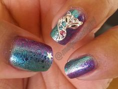 MAQUICLUB GIRL: Rhinestoned Mini Fox Patterned Charming 3D Nail Art (Born Pretty Store colaboration)