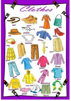 Forum | Learn English | Basic Vocabulary: Clothes | Fluent Land