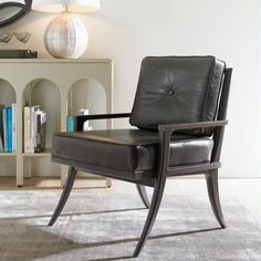 Crestaire-Lena Accent Chair in Flint - 436-85-74