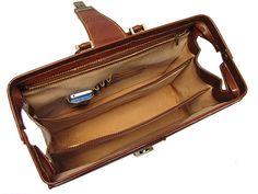 Floto Ciabatta Briefcase Leather Briefcase 4521 Italian Leather Briefcase