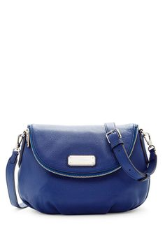 1fb2f8cd12 Image of Marc by Marc Jacobs New Q Natasha Leather Crossbody Sac À Main De  Marc