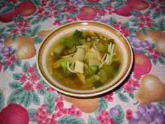 Soupe aux légumes à la chinoise