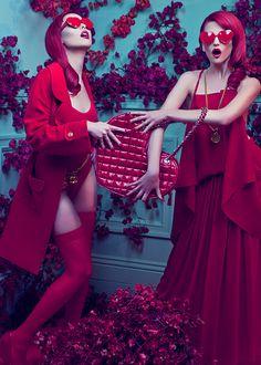 Cute red overload
