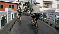 Bangkok Bike Tour 2018 Bangkok Bike Tour Do your bit to relieve traffic congestion in Thailand's capital by joining this Bangkok tour that trades in the tour bus for the humble bicycle. Cycle through Bangkok's backstreets,... #Event #Sport #Cycling #Tour #Backpackers #Tickets #Entertainment