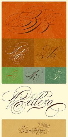 Pretty, pretty calligraphy.