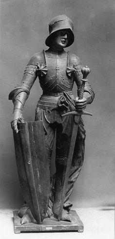 Joan of Arc / Juana de Arco // Austria, Tyrol / century // The Walters Art Museum Joan D Arc, Saint Joan Of Arc, St Joan, Jeanne D'arc, Female Knight, Lady Knight, Medieval Armor, Catholic Saints, Women In History