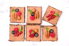 Sütés nélküli Brownie (cukormentes, vegán) | Színek és virágok