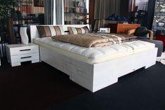 Wunderschönes original High-Touch Bett als Sonderedition White Bamboo - bei BESTBED als Ausstellungsstück im Sonderangebot!