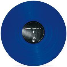 Native Instruments Traktor Scratch Control Vinyl MK2 - Blue