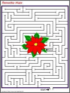 maze | Christmas Maze Games http://www.merrygames.com/Activities/Mazes/mazes ...