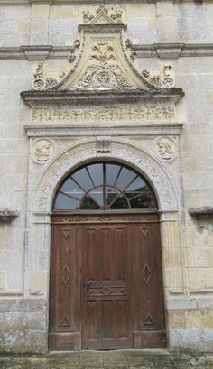 Door Azay le Rideau Chateau