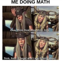 Humor lustig Mathematics summed up in one HTTYD scene Disney Jokes, Funny Disney Memes, Crazy Funny Memes, Really Funny Memes, Funny Relatable Memes, Httyd Dragons, Dreamworks Dragons, How To Train Dragon, How To Train Your