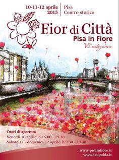 #PisaWalkingintheCity @leopoldapisa Pisa in Fiore, 10-12 aprile