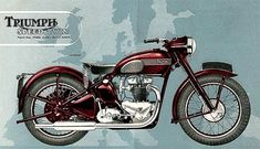 Vintage Triumph Motorcycles of the Indian Motorcycles, British Motorcycles, Vintage Motorcycles, Bmw Vintage, Vintage Bikes, Vintage Cameras, Triumph Motorbikes, Triumph Motorcycles, Mv Agusta