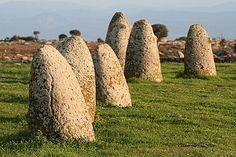 Tamuli Menhirs - Sardinian Megalithic Culture