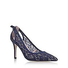 9aca6b09d144 Miss KG Blue  Sayde  high heel court shoes