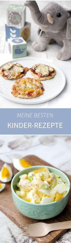 Meine besten Rezepte für Kinder - vom Frühstück bis zum schnellen Mittagessen - Gaumenfreundin Foodblog #kinderrezepte #kochenfürkinder #backenfürkinder