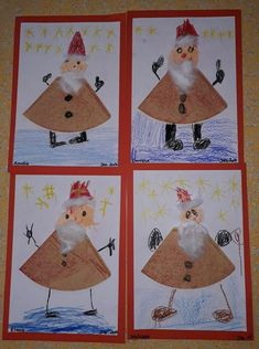 Nikolaus-Special: last minute gifts & craft ideas for .- Nikolaus-Special: Last minute gifts & craft ideas for kids style-pray - Christmas Art, Christmas Decorations, Homemade Christmas, Christmas Ideas, Diy For Kids, Crafts For Kids, Kids Fashion Blog, Child Fashion, Jar Art