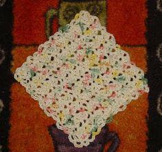 MoCrochet: Karen's Dishcloth - free pattern