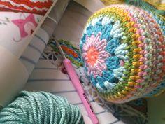 Clara Bolster by Tracey Todhunter, Inside Crochet Magazine